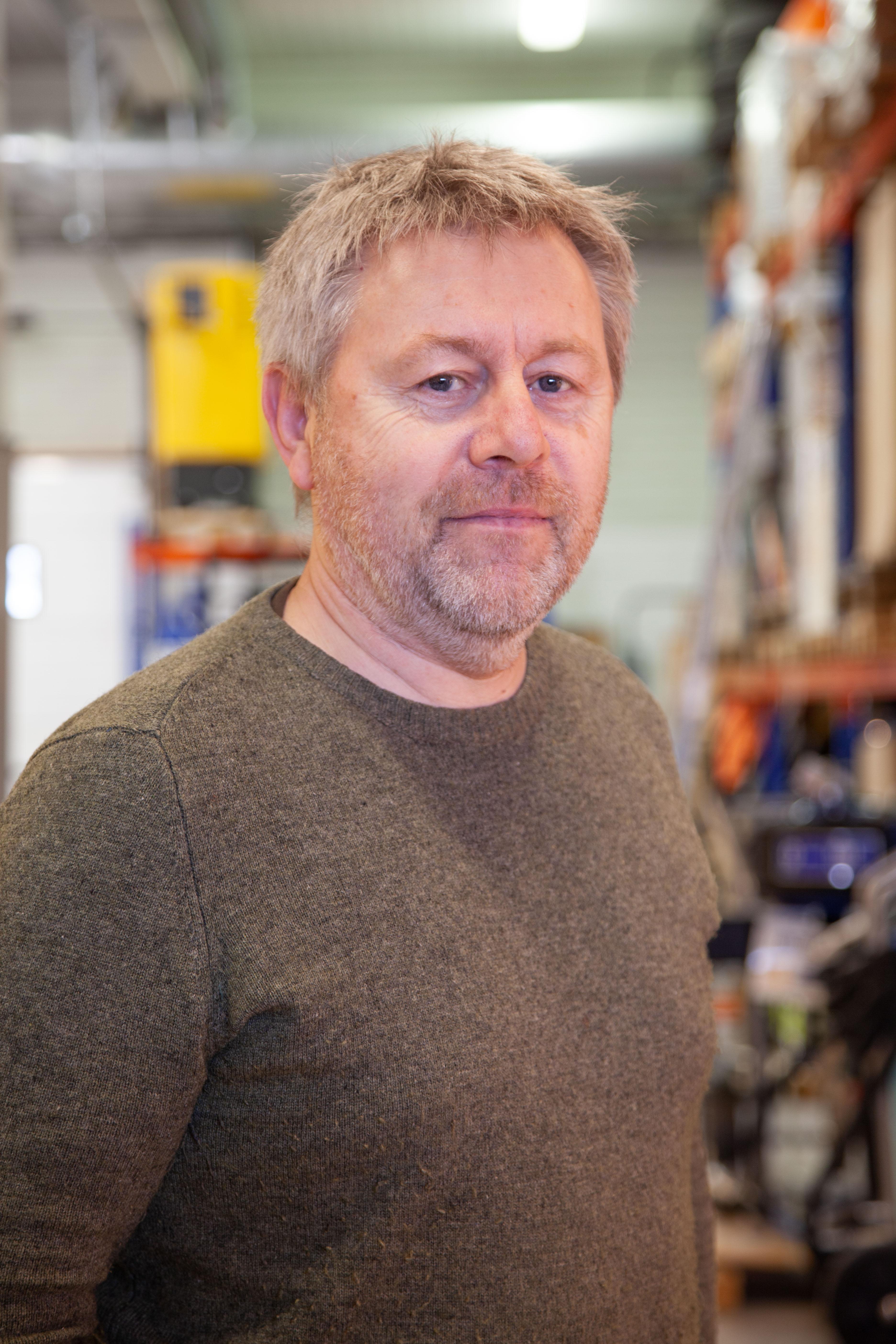 Bilde av Kjell Finnøy